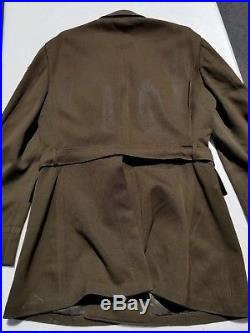 WW2 US Army Captain 6th Armored Division Officer's Tunic Size 41L Dated 1942