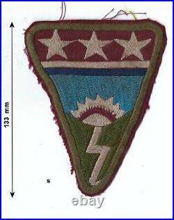 WW2 US Army China Burma India Theatre Made Ledo Road Uniform Patch Original