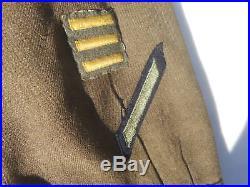 WW2 US Army Ike Jacket Size 44 Long 3rd Army Patch 2nd Imfinty Div SGT Stipes