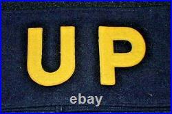 WW2 US Army Issue United Press War Correspondent Arm Brassard Band Wool War-Time