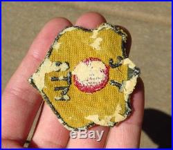 WW2 US Army Military Red Ball Express Quartermaster Trucking Patch