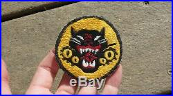 WW2 US Army Military TD Tank Destroyer Patch JAPANESE MADE SSI Insignia