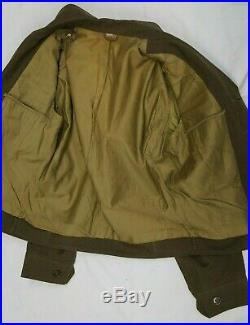 WW2 US Army Red Ball Express Patched Ike Jacket