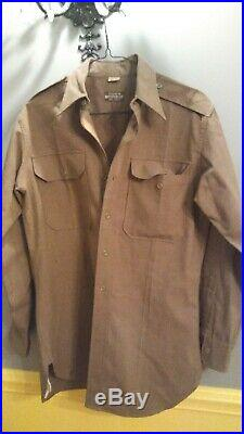 WW2 US Army Tank Destroyer Uniform Set With 5 Patches