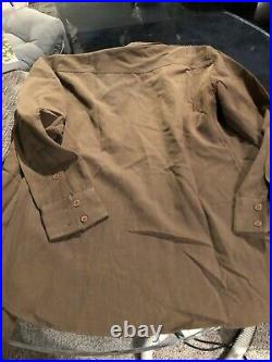 WW2 US Army Uniform Shirt Wool Campaigner with 25th Corps Tropic Lightening patch