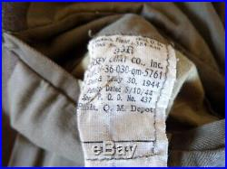 WW2 U. S. ARMY S/Sgt IKE. 86th INFANTRY & AWESOME WESTERN PACIFIC SERVICE PATCH