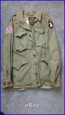 WW2 U. S Army M43 Jacket (Airborne patch)
