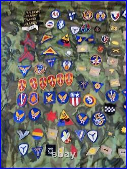 WW2 Vietnam Era US Army Patch Lot Army Air forces / Infantry Divisions