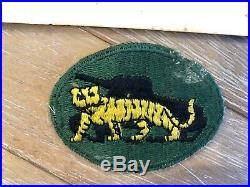 WW2 WWII US Army 10th Armored Division Proficiency patch (RARE)