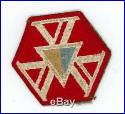 WW2 WWII US Army 466th Quartermaster Battalion patch SSI ($550 BIN elsewhere)