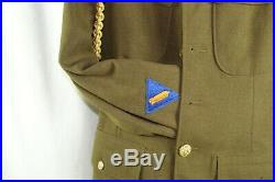 WW2 WWII US Army Air Force USAAF Service Jacket Size Sterling Wings Patches