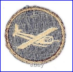 WW2 WWII US Army Medical Glider garrison cap patch (enlisted) a beauty
