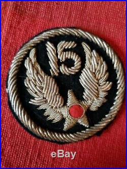 WWII 15th US Army Air Corps Bullion Patch