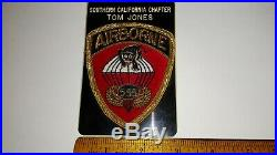 WWII Bullion Reunion Patch-US ARMY AIRBORNE 555th Parachute Infantry Battalion