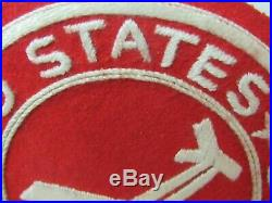 WWII/KW Era US Army Artillery Glidertroops Corded Hand Made PX Patch