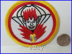 WWII/KW US Army 462nd Parachute Field Artillery Bn. Hand Made Pocket Patch