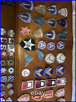 WWII Korea Vietnam US Army Infantry USAAF Patch Lot Cut Edge Division Squadron