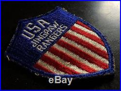 WWII Patch US Army USA Jingpaw Rangers Kachin OSS CBI Burma Intelligence Rescue