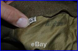 WWII US ARMY AIR CORPS 15th AIR FORCE IKE ITALIAN THEATER MADE BULLION PATCH