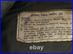 WWII US ARMY AIR CORP UNIFORM, WOOL IKE JACKET, PANTS SHIRT & HAT & Patches Id'd