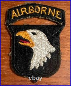 WWII US Army 101st Airborne Division Patch
