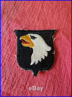 WWII US Army 101st Airborne Patch No Tab