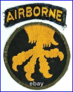 WWII US Army 17th Airborne Shoulder Sleeve Insignia