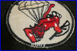 WWII US Army 508th PIR Parachute Infantry Regiment Theater Made Patch Album Rem
