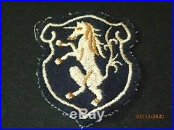 WWII US Army 6th Cavalry Regiment SSI Patch Theater Made & Uniform Removed RARE