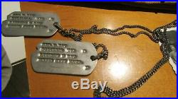 WWII US Army 8th Air Force Dog Tag Sterling Gunner Wings Uniform Patch Grouping