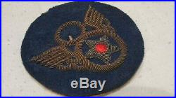 WWII US Army 8th Air Force STUBBY WING Bullion Uniform Jacket Patch British Made