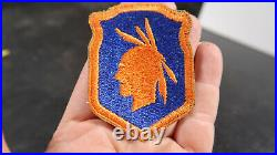WWII US Army 98th Infantry Division Patch Green Back Greenback