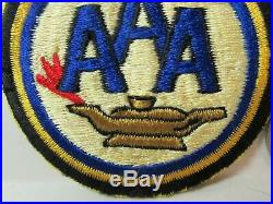 WWII US Army AAA Artillery School FE, SSI Patch