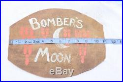 WWII US Army Air Corp Leather Bombers Patch