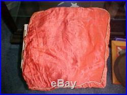 WWII US Army Air Corps CBI China Burma India BULLION Patch on Souvenir Pillow