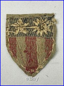 WWII US Army Air Corps Theater Made CBI Patch