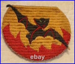 WWII US Army Airborne Pocket Patch Bat Out of Hell Rare