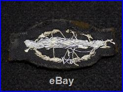 WWII US Army CIB Combat Infantry Badge Bullion Patch Theater Made Felt