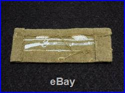 WWII US Army CIB Combat Infantry Badge Woven Patch Theater Made