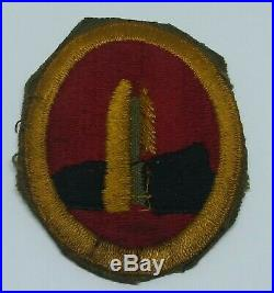 WWII US Army Hawaiian Coast Artillery Brigade Patch RARE