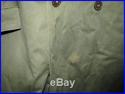 WWII US Army M9053 RARE LONG Jacket 3rd Armored Division/With Patches MED LONG