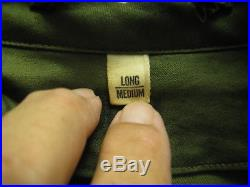 WWII US Army M9053 RARE LONG Jacket 3rd Armored Division