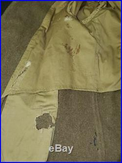 WWII US Army Overcoat with 12th Army Group and SHAEF Patches