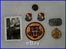 WWII US Army Tank Destroyer Lot for 776th TD Regiment Note Updated Description