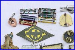 WWII US Army Texas Division Insignia Grouping
