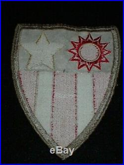 WWII US Army USAAF Tailor Made China Burma India CBI Jacket Patch A-2 Orig. 5 In