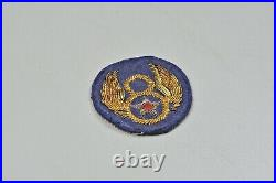 WWII U. S. 8th ARMY AIR CORPS PATCH BRITISH MADE, BULLION