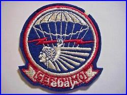 WWII U. S. ARMY 501st AIRBORNE Geronimo JACKET PATCH - No Glow
