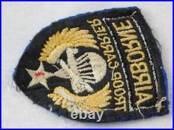 WWII U. S. Army Airborne Glider Troop Carrier Theater Made Felt Patch