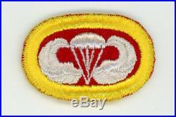 WWII WW2 US Army 464th Parachute Field Artillery Battalion oval on wool